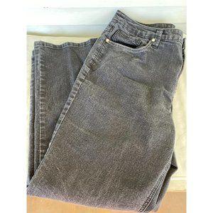 Christopher & banks sz 14 short black denim jeans